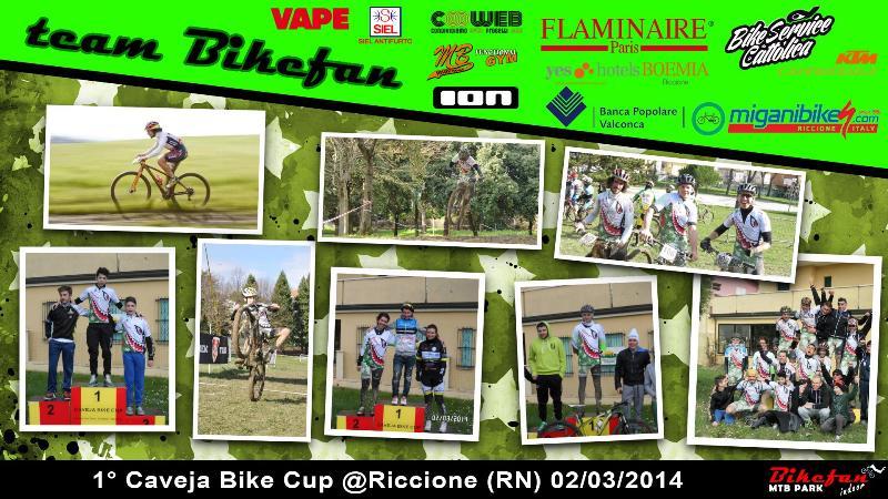 team bikefan 1° caveja 2014